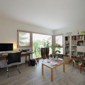 Extension et rénovation - chambre et bureau