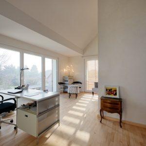 Extension et rénovation - intérieur premier étage et bureau