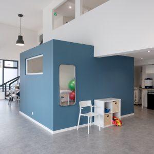 Rénovation et aménagement intérieur - espace cabinet