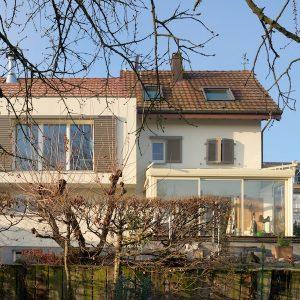 Extension et rénovation - façade arrière