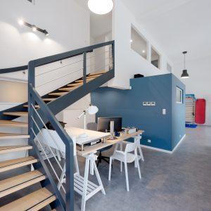Rénovation et aménagement intérieur - entrée et escalier