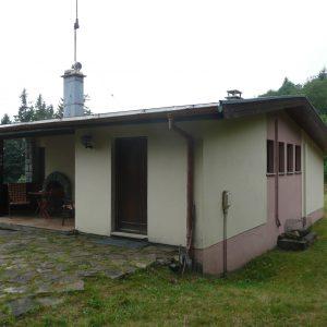 Extension et rénovation - façade arrière, avant rénovation